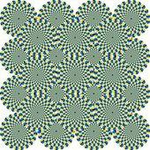 Optical Illusion Circles — Stock Photo