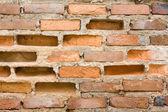 Cracked brick wall — Stock Photo