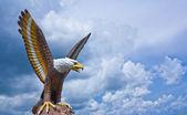 Eagle sculpture — Stock Photo