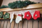 Christmas socks — Stock Photo