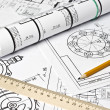 Engineering drawing — Stock Photo #5087400