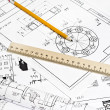 Engineering drawing — Stock Photo #5098843