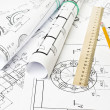Engineering drawing — Stock Photo #5098864