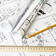 Engineering drawing — Stock Photo #5098901