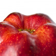 Red apple. macro — Stock Photo