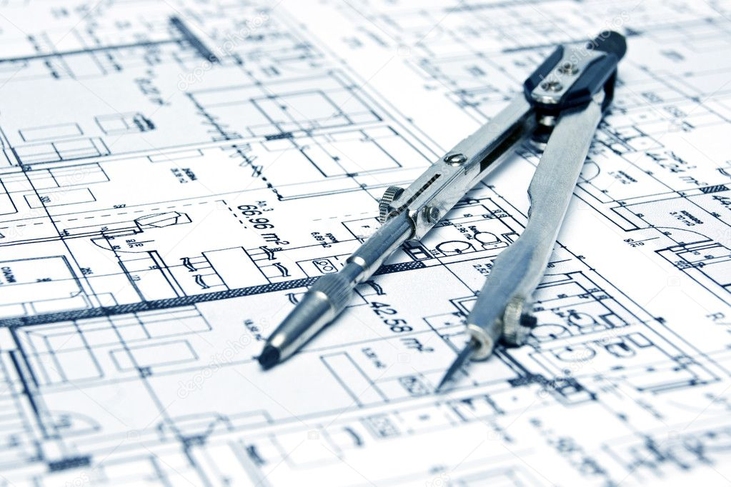 Engineering blueprint and tools stock photo gemini62 Blueprint designer free