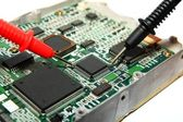 Testing circuit board — Stock Photo