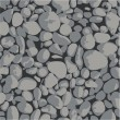 Vector - Gravel - background gray and black - Vektorgrafik