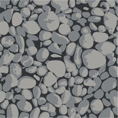 Vector - Gravel - background gray and black — Stock Vector
