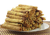 Home Wafer tubules — Stock Photo