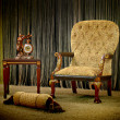Vintage armchair — Stock Photo #4441527