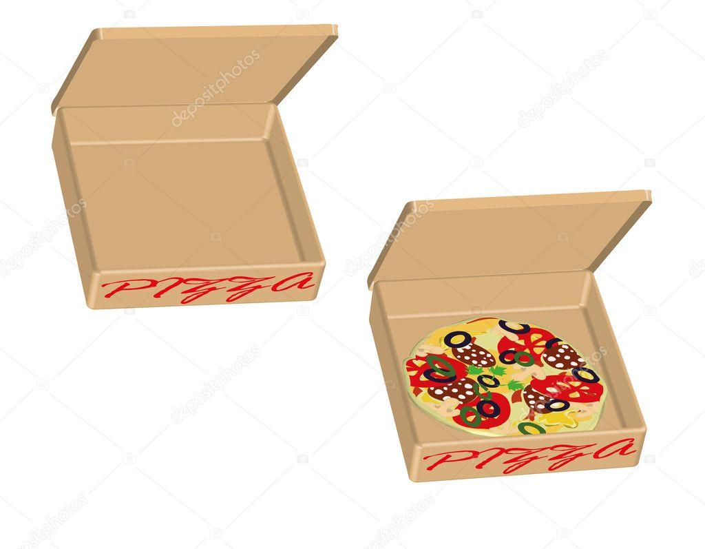 pizza box clipart free - photo #18