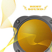 Loudspeaker. EPS10 — Stock Vector