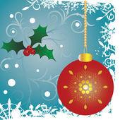 矢量圣诞节背景 — 图库矢量图片