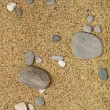 Rocks and Stones over sand — Stock Photo #4668215