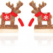 Christmas Reindeer - Stock Photo