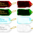 Set of Christmas Gift Tags / Sale Tags -  