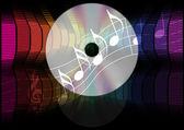 Musik Party background — Stockvektor