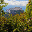 Salzburg, Austria - View From Kapuzinenberg — Stock Photo