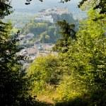 Salzburg Austria - View From Kapuzinenberg — Stock Photo #4330105