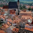 Center of Cesky Krumlov, Czech Republic — Stock Photo