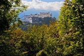 Salzburg, Austria - View From Kapuzinenberg — Stock Photo