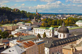 Center of Salzburg, Austria — Stock Photo