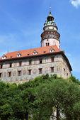 Chateau, cesky krumlov, república checa — Foto de Stock