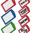 Royalty-Free Stock Vector Image: Set of Tags