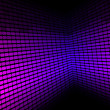 Abstract Background - Violet Equalizer — Stock Vector #4346421