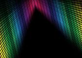 Streszczenie tło - multicolor korektor — Wektor stockowy