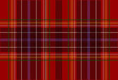 Red Tartan Texture — Stock Vector