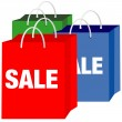 Royalty-Free Stock Vector Image: Shopping Bags - Sale