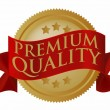 Premium Quality Seal - Stock Vector