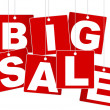 Big Sale Sign - Stock Vector