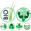Eco Icons — Stock Vector #4993230