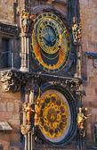 The Prague Astronomical Clock — Stock Photo