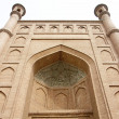 Closeup view of a mosque — Stock Photo