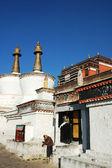 Landschap van een bekende azië in tibet — Stockfoto