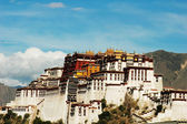 Landmarks of the Potala Palace in Lhasa Tibet — Stock Photo