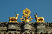 Golden roof of a monastery — Foto Stock
