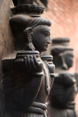 Historical sculptures of buddha — Foto Stock
