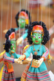 Marionette in Kathmandu Nepal — Stock Photo