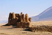 Ruins in Tibet — Stock Photo