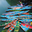 Colorful tour boats — Stock Photo #4739753