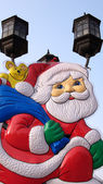 Cartoon Santa Clause — Foto Stock