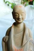 Smějící se buddha socha — Stock fotografie