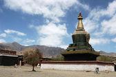 Tempel i tibet — Stockfoto