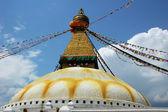 Buddhist stupa in Kathmandu Nepal — Stock Photo