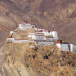 Ancient castle in Tibet — Foto Stock